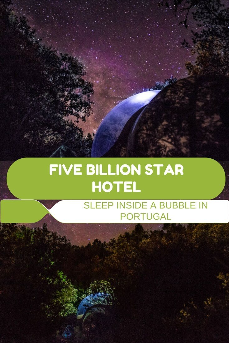 Five Billion Stars Hotel: Sleep Inside a Bubble