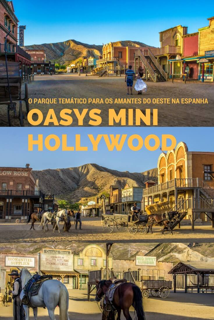 Oasys Mini Hollywood, Espanha - O Parque Temático Para os Amantes Do Oeste