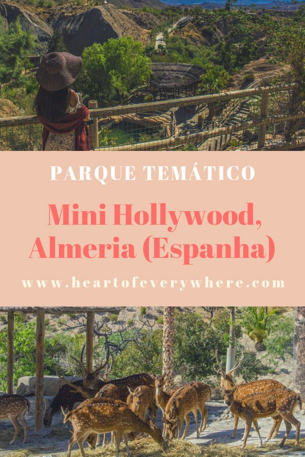 Oasys Mini Hollywood, Almeria - O Parque Temático do Oeste no Deserto de Tabernas