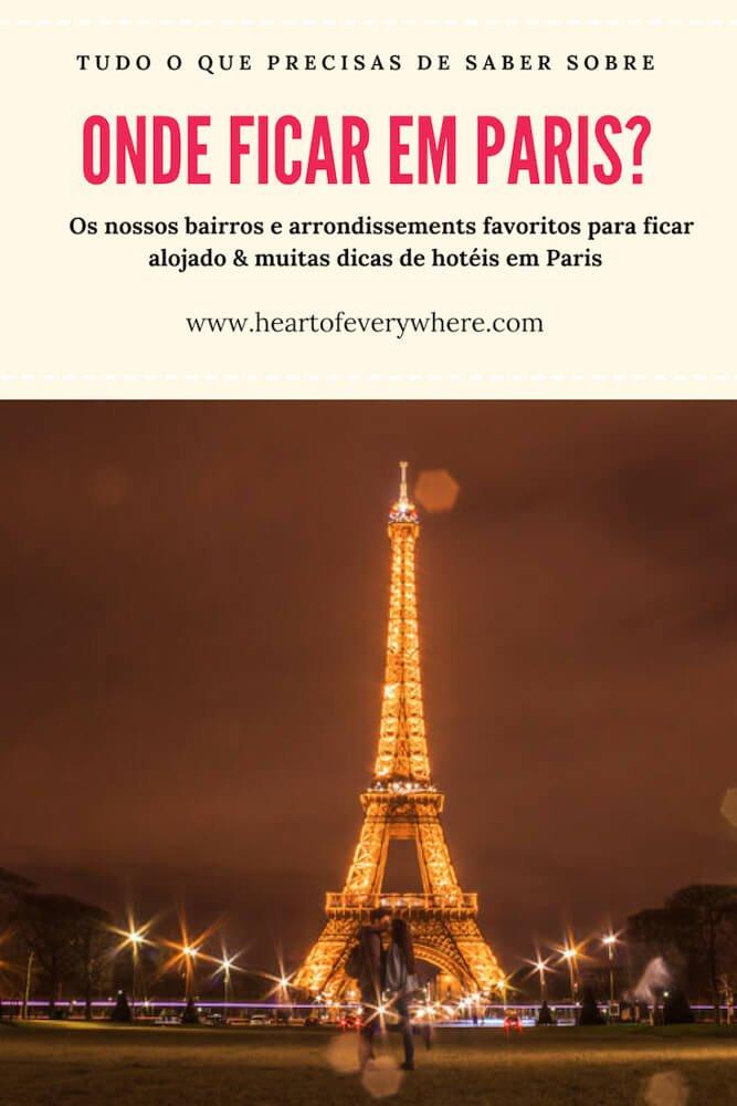 Onde ficar em Paris? Dicas de Hoteis em Paris